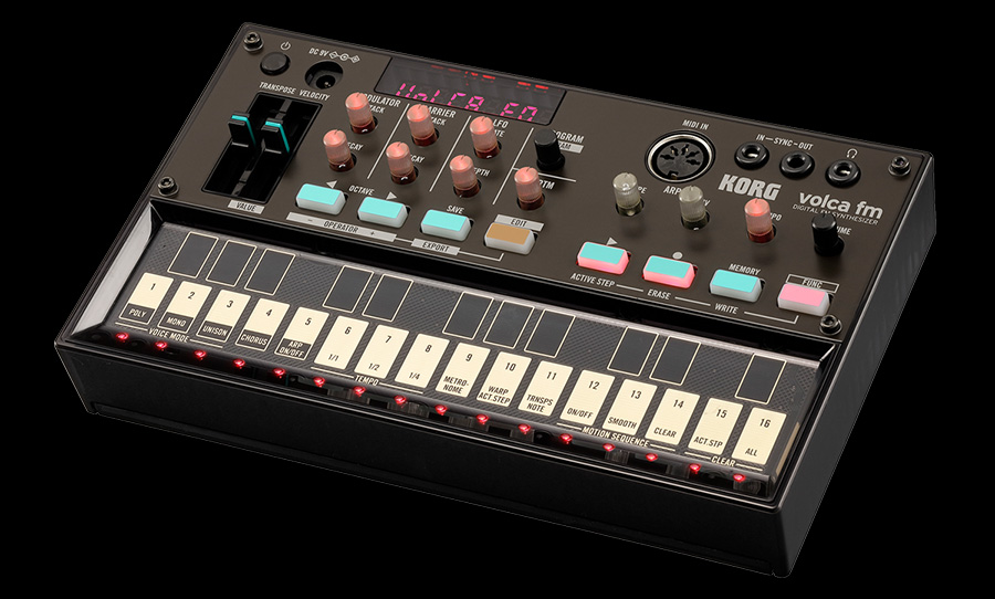 best selling synthesisers of 2017 korg volca fm
