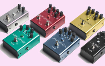 Fender Have Jumped Back into the Pedal Market with a New Range of Six Effects