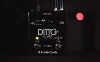 TC Electronic Launches the Ditto Jam Looper X2 Pedal