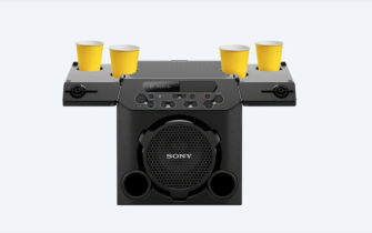 Sony's New GTK-PG10 Speakers Come With Inbuilt Cupholders