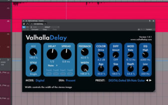 Valhalla DSP Adds Echoes to Their Arsenal with the ValhallaDelay Plugin