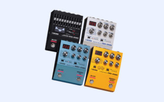 BOSS Launches Four Next Generation Effects Pedals
