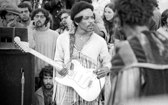 Celebrate the 50th Anniversary of Woodstock with the New Hendrix Stratocaster