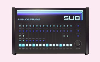 Sub is the Free Drum Machine Plugin with an Extra Kick